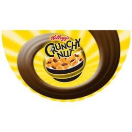 Floor graphi branded crunchy nut