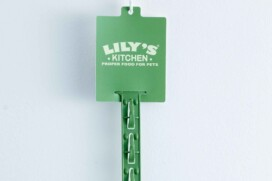 Scorpion strip closeup branded with Lilys Kitchen promoheader
