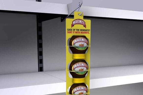 3D render of the Marmite tub strip