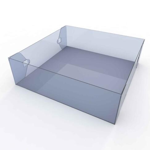 3D render of an empty mop tray