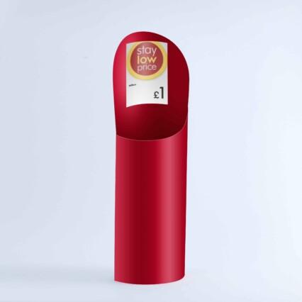 Wilko red dump box for pens
